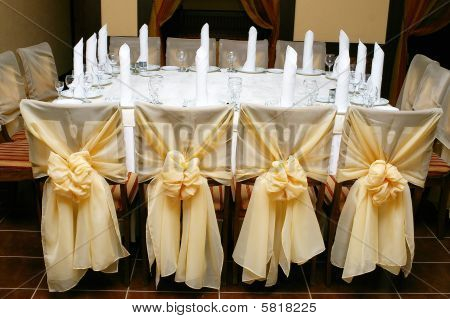 Table Appointments Served For 12 Persons