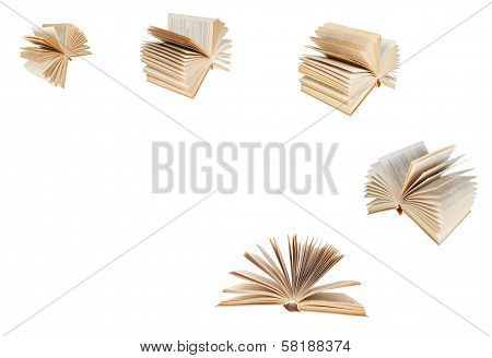 Set From Fanned Old Book