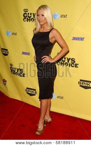 Tara Conner at Spike TV's