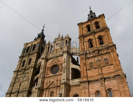 Saint Mary Cathedal Of Astorga. Spain