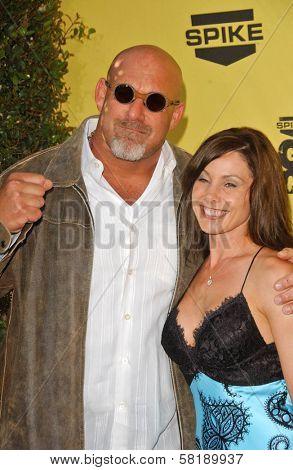 Bill Goldberg and Wanda Ferraton at Spike TV's