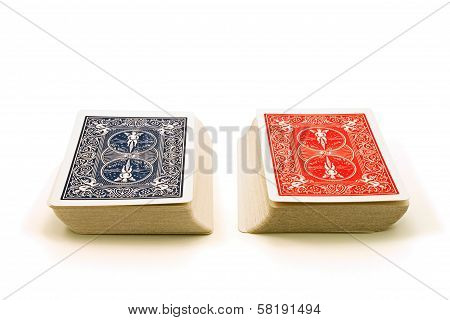 Two Decks Of Cards