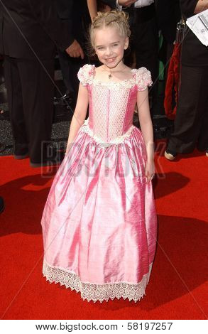 Darcy Rose Byrnes at the 34th Annual Daytime Emmy Awards. Kodak Theater, Hollywood, CA. 06-15-07