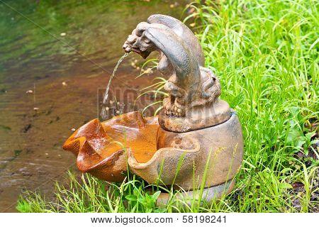Rusty Serpent Fountain