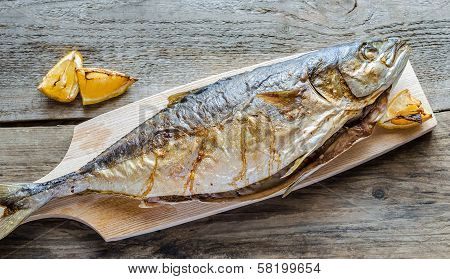 Grilled  Japanese Amberjack Fish
