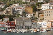 stock photo of hydra  - Hydra is a beautiful town on the Greek Islands of the Sarnoic group - JPG