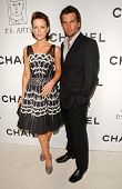 Kate Beckinsale and Len Wiseman at the Chanel and P.S. Arts Party. Chanel Beverly Hills Boutique, Be