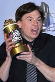Mike Myers in the press room at the 2007 MTV Movie Awards. Gibson Amphitheatre, Universal City, CA.