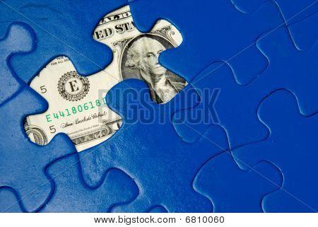 Puzzle de dinheiro
