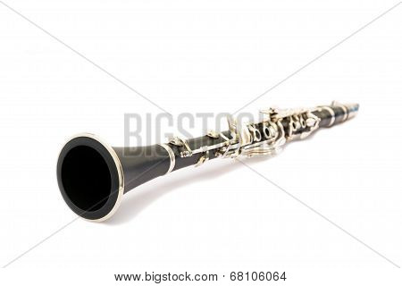 Still Life Of A Clarinet