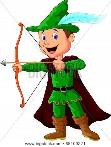 Robin hood cartoon