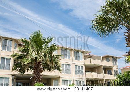 Luxury Beach Condos With Palm Trees