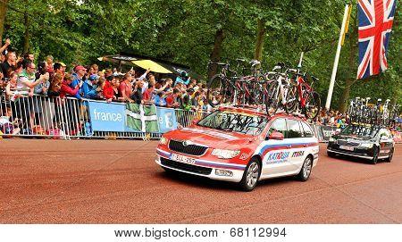 Tour de France in London, UK