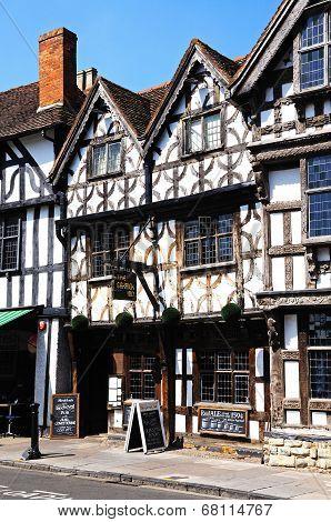 Garrick hotel, Stratford-upon-Avon.