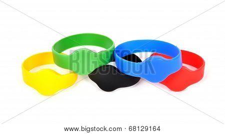 Color Rfid Bracelets