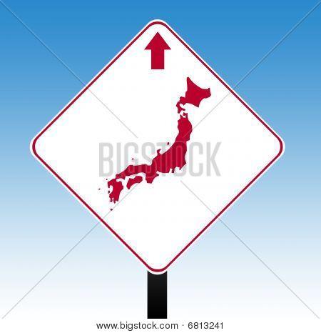 Japan Road Sign