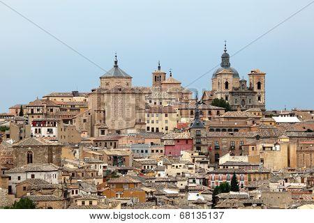 Old Town Of Toledo, Spain