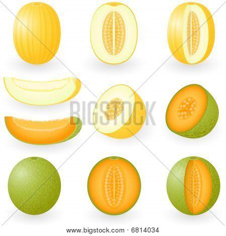 Icon Set Melon