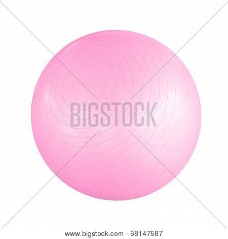 Pink Pilates Ball