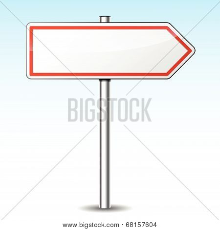 Vector Directional Sign