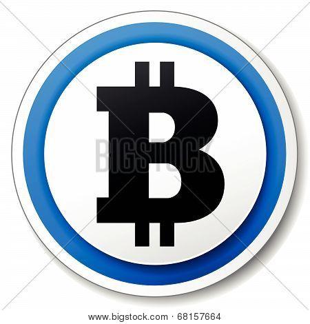 Vector Bitcoin Icon