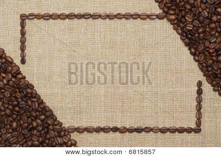 Art coffee frame
