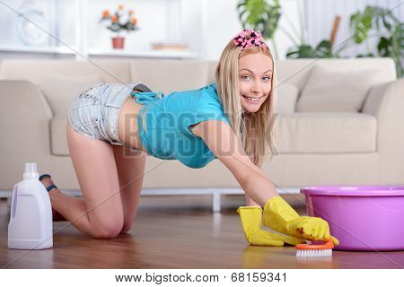 Beautiful Housewife