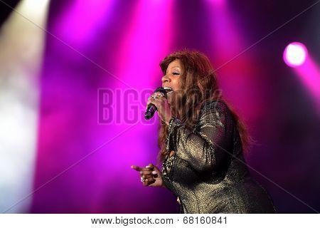 Gloria Gaynor performs at Exit Festival, Novi Sad