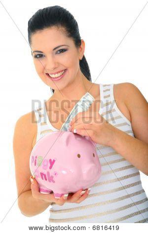 Mommy Saving Money