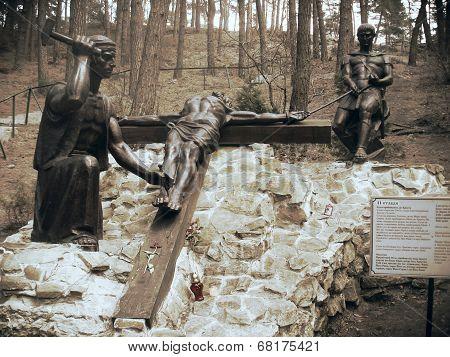 Jesus monument