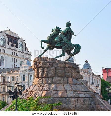 Monument To Hetman Of Ukraine Bogdan Khmelnitsky