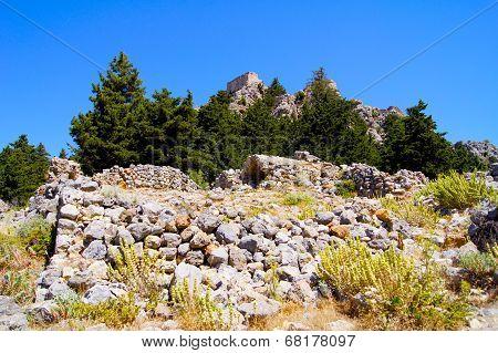 Building in Palio Pyli Cos Island Greece