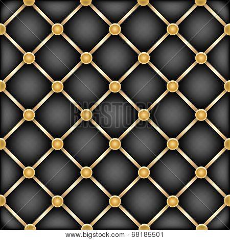 golden black leather furniture texture