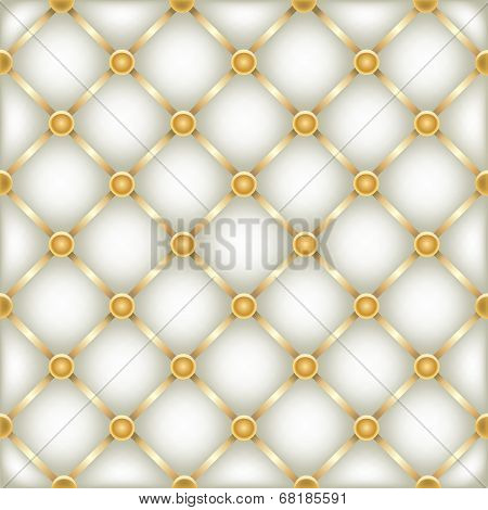 golden white leather furniture texture