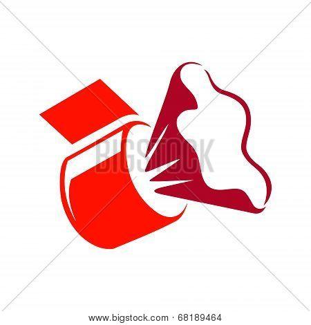 Vector grocery clip