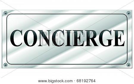 Vector Concierge Sign