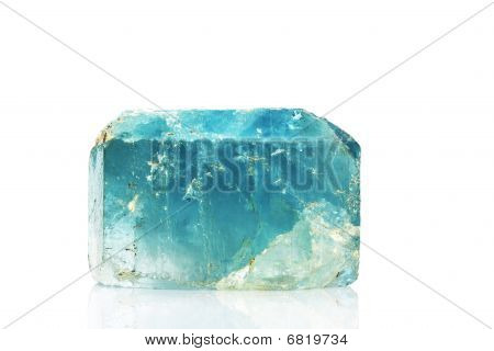 Natural Blue Topaz Crystal
