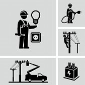 image of lineman  - Electrician  - JPG