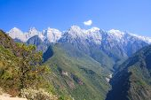 foto of leaping  - Scenery of Tiger Leaping Gorge - JPG