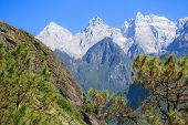 picture of leaping  - Scenery of Tiger Leaping Gorge - JPG