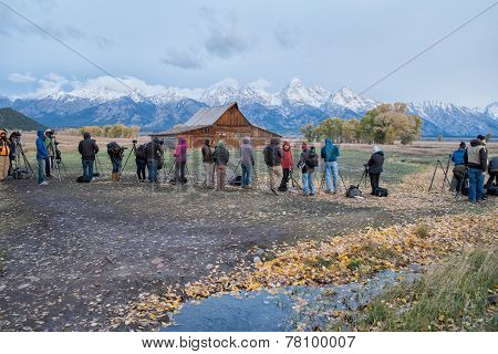 Travel photography in Grand Teton