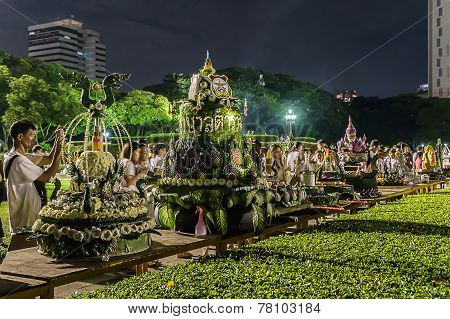 Loy Kratong Festival Celebrated