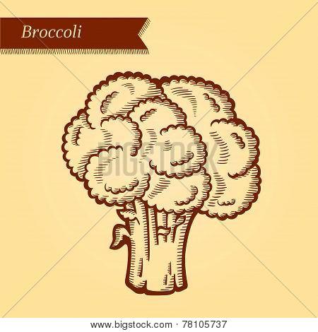 Retro broccoli