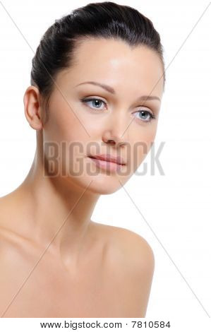 Health  Skin And Freshness Of Complexion Woman's Face
