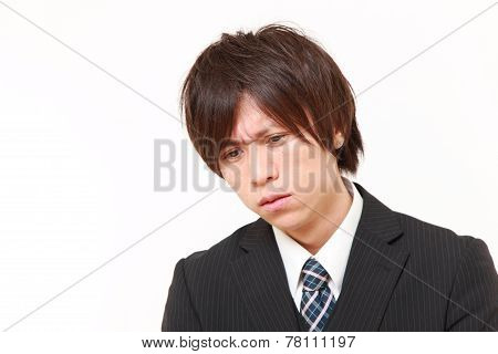 perplexed businessman