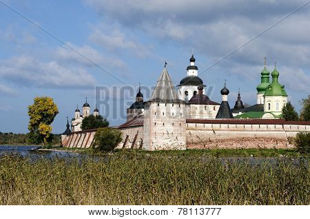 Ancient Kirillo-belozersky Monastery In North Russia
