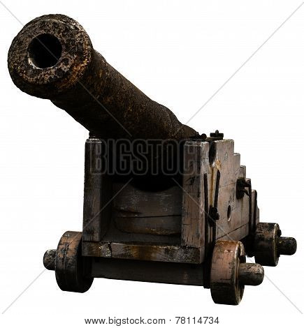 Old dutch 18th century cannon