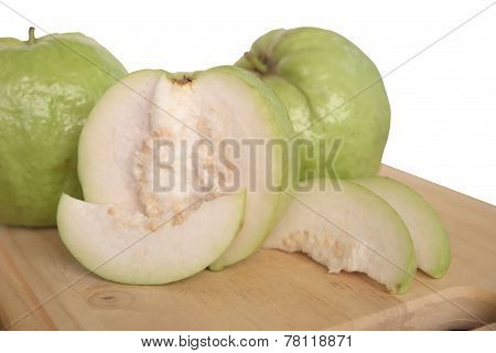 Chopped Guava