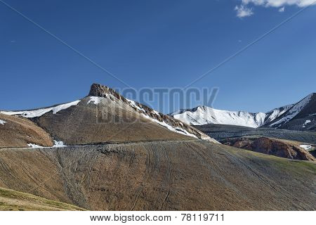 High Altitude Mountain Road