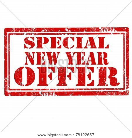 Special New Year Offer-stamp